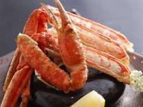 【追加料理:焼きかに(半身)】 2,500円(税別) ※カナダ産冷凍ずわい蟹使用