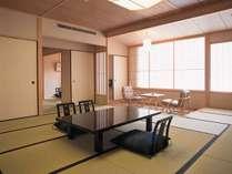 【露天風呂付き特別室:呉竹】和室一例(本間12.5畳)