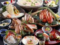 【冬季限定】かに鍋料理一例