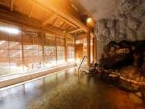 【左の湯】投入堂洞窟風呂 ※かけ流し風呂