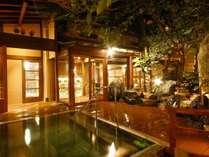 ■仁者の湯■2019年10月リニューアルオープン!庭園を眺めながら温泉に浸かる。