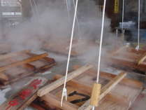 【姉妹店*海鮮市場蒸し釜や】100℃の温泉の蒸気で蒸したヘルシーな料理を召し上がれ♪