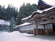 *【雪景色】冬の美しい高野山もお楽しみください。