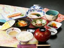 【朝食付】朝は定番の和膳に「体に優しい旬野菜」をプラス☆「温野菜」にてご提供♪【夕食なし】