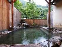 当館イチオシ!5つのお風呂のうちの1つ貸切露天風呂