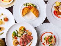 北海道産食材に拘ったビストロ料理のコースディナー