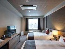 【スタンダード・ツイン】広さ25平米 ベッドサイズ120cm×2台のリーズナブルなツインルーム