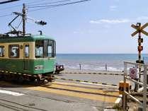 海が見えるレトロな電車「江ノ電」に乗ろう!古都鎌倉と湘南江の島など、観光地をまわるのにとても便利♪