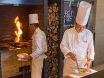 レストラン欅 料理風景