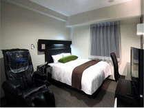 *プレミアム*(スタンダード)ブラウンを基調にしたシックなお部屋☆150㎝幅ベッド。