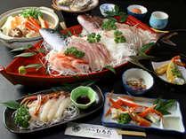 寒い冬はかにすき鍋がたまんねぇ( *´艸`)でも旨い舟盛りも食べたい欲張りプラン♪