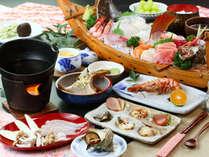 当宿自慢の和夕食コース☆どれも手作りの創作料理となっています♪まずは前菜から・・・。