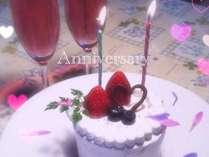 誕生日や記念日の思い出に