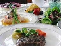 大人気の岩手県産短角牛のステーキ。