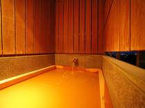 夕暮れ時の展望貸し切り露天風呂です。