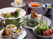 季節の旬の食材を使った会席料理をご提供させて頂きます。