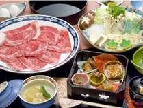 【レイトサマー割】秀水園の代名詞「上州牛すき焼き御膳プラン」が10%OFF&1ドリンク付き♪