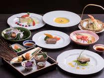 *「特選会席料理」夕食一例