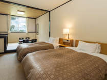 *客室一例(和洋室) 全てのお部屋が20平米(約10畳)以上。1名様ご利用も歓迎。【全室wi-fi完備】