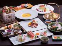 *秋季限定:松茸料理の和洋会席