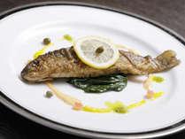 *夕食 魚料理 一例