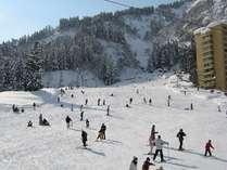 【ゲレンデデビューファミリー応援☆】一本杉スキー場リフト券付★冬のちびっこパラダイス♪
