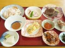 *【料理一例】鹿肉や海の幸等、北海道ならではの味覚をご用意致します。