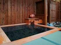 月みかげの湯「開運茶室露天風呂」