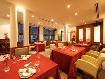 12階 中国料理レストラン「滬(ふう)」店内風景(ディナータイム)
