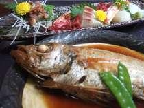高級魚のどぐろ煮つけと新鮮な山陰の海の幸満載プランもあります♪