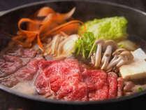 【ご夕食】特選黒毛和牛すきやき