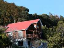 自然の恵みに囲まれた貸別荘。ワンちゃんもOK