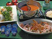 冬の宴会料理(二味鍋)