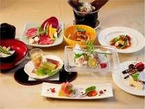 旬の食材をふんだんに・・・こだわりの和洋会席(一例です)