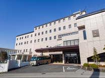 *【ホテル外観】庄原を代表する大規模ホテル。ビジネスにレジャーにご利用くださいませ