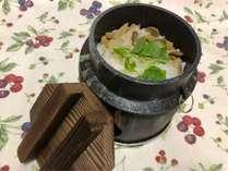 【秋の優雅旅】松茸・きのこ釜飯