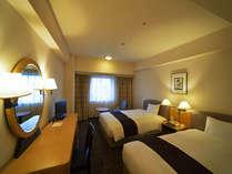 ツインルーム:24平米・スランバーランドベッド/ベッド幅122cm×2台