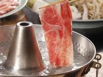 """島根の大自然で育った""""しまね和牛肉""""をしゃぶしゃぶで♪"""