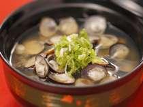 宍道湖七珍の一つ、しじみ汁松江の郷土料理