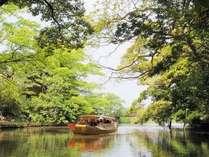 春から、秋。気持ちのいい季節です~堀川遊覧~