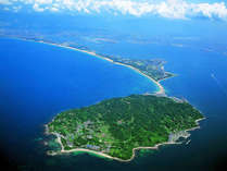 志賀島を取り巻く自然景観