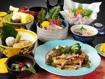 ≪お得会席≫お造りや地鶏じぶ煮、白身魚ムニエルなど全9品をお召し上がり下さい。