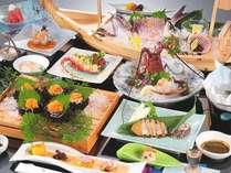 2011年夏・あわらぎ膳(一例):伊勢志摩のグルメを満喫!豪華食材のお料理の数々♪