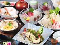 【いさりび膳】「寄せ鍋」&「グラタン」のほっかほか料理
