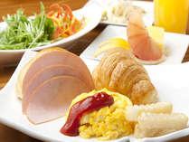 レストラン九年母亭朝食ビュッフェ一例