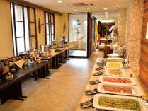 レストラン「九年母亭」朝食ブッフェ(一例)