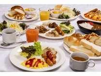 有料朝食(盛り付けイメージ)