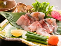 四種の伊豆海鮮しゃぶしゃぶ:【口福特選】メイン料理一品目 【特別膳】選べるメイン料理