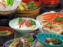 女将お手製の煮物・丹精こめた自家菜園の野菜、手作りの味噌など、安全な食材でおもてなし。
