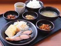 和洋朝食バイキング無料サービス(盛付例 和食) ご利用時間 6:30~9:00